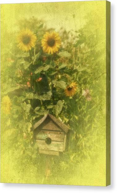 Vintage Garden Canvas Print by Richard Cummings