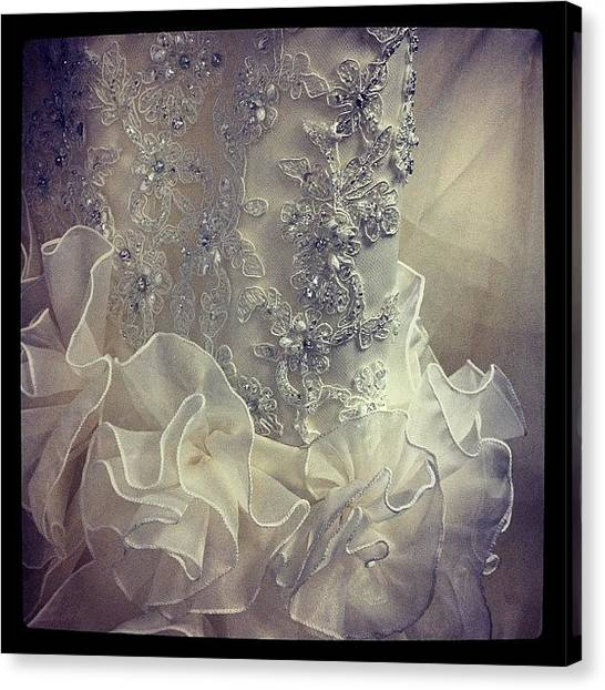 Wedding Canvas Print - #wedding #dress #shopping by Melissa Wyatt