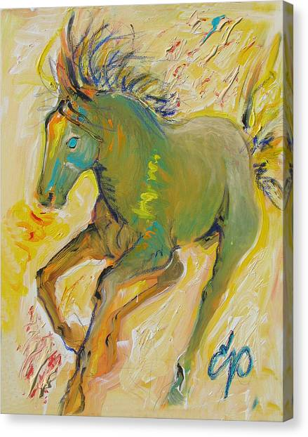 Wildish Mane Canvas Print