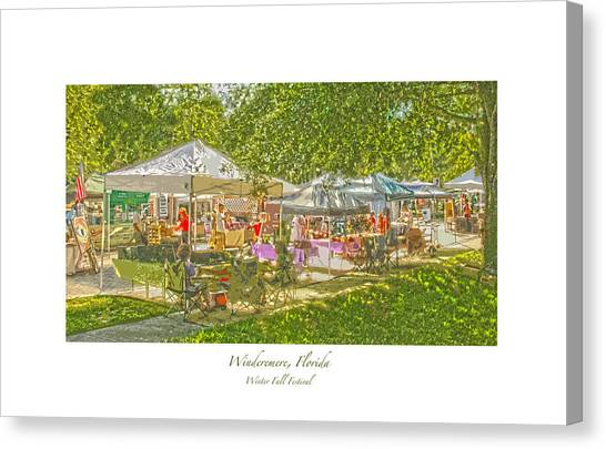 Windermere Fall Festival Canvas Print