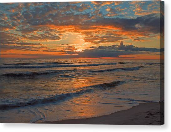 Wish You Were Here... Canvas Print by Dave Alexander