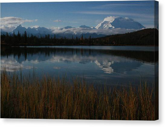 Wonder Lake Denali National Park Canvas Print
