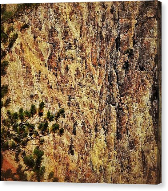 Wyoming Canvas Print - Yellowstone Canyon. #all_photos by Chris Bechard