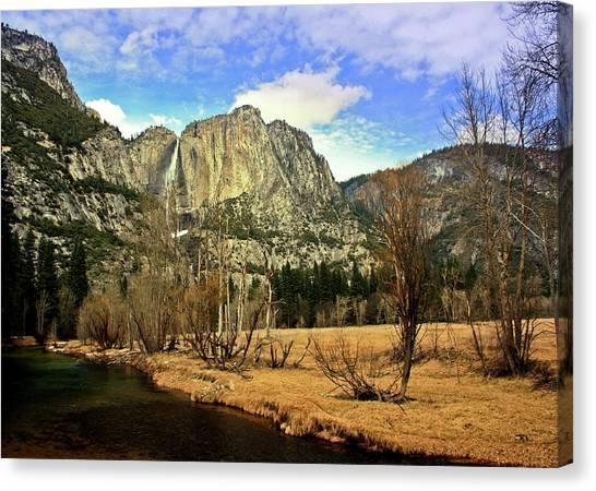 Yosemite Falls Canvas Print - Yosemite National Park by Luiz Felipe Castro