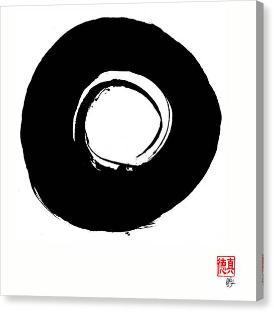 Zen Circle Six Canvas Print