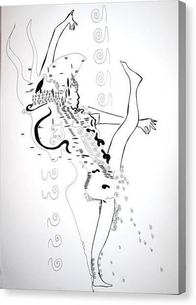 Gloria Canvas Print - Zulu Dance - South Africa by Gloria Ssali