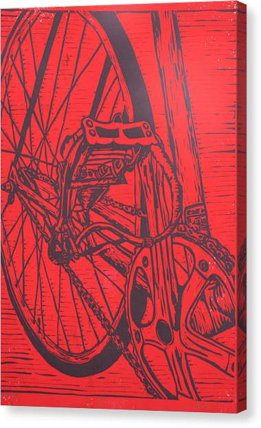 Bike 3 Canvas Print