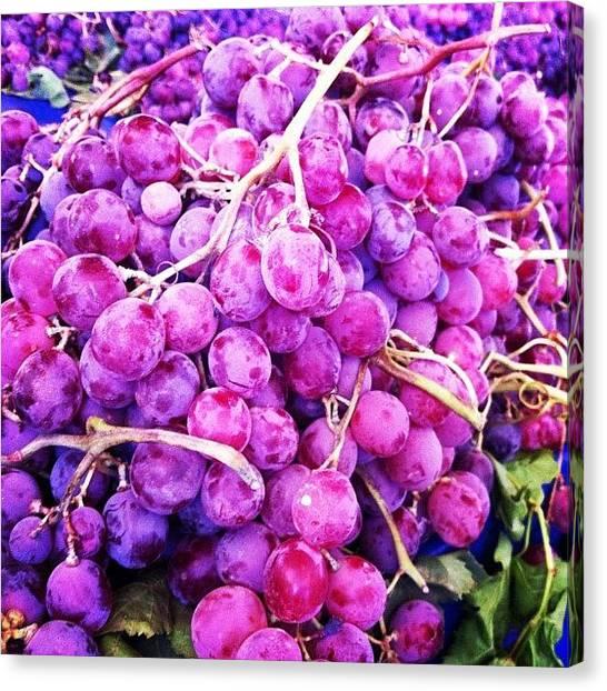 Grapes Canvas Print - #photooftheday #beautiful #pretty #life by Burcu Bezirci