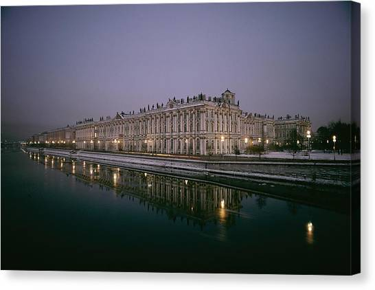 State Hermitage Canvas Print - Untitled by Dick Durrance Ii