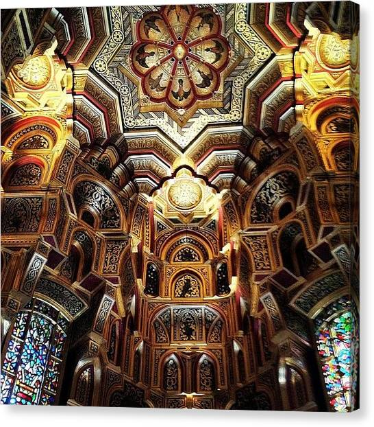 Medieval Canvas Print - 100% Natural. After Exploring Inside by Elbashir Idris