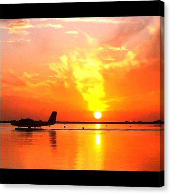 Seaplanes Canvas Print - Instagram Photo by Ippe Fifty