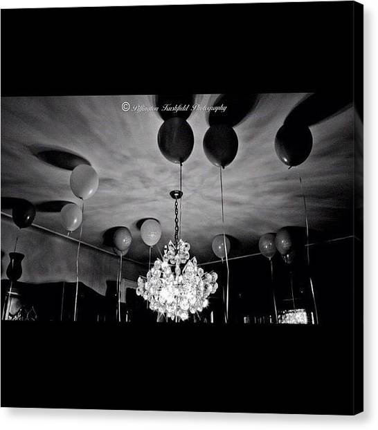 Balloons Canvas Print - Instagram Photo by Mr Kushfield