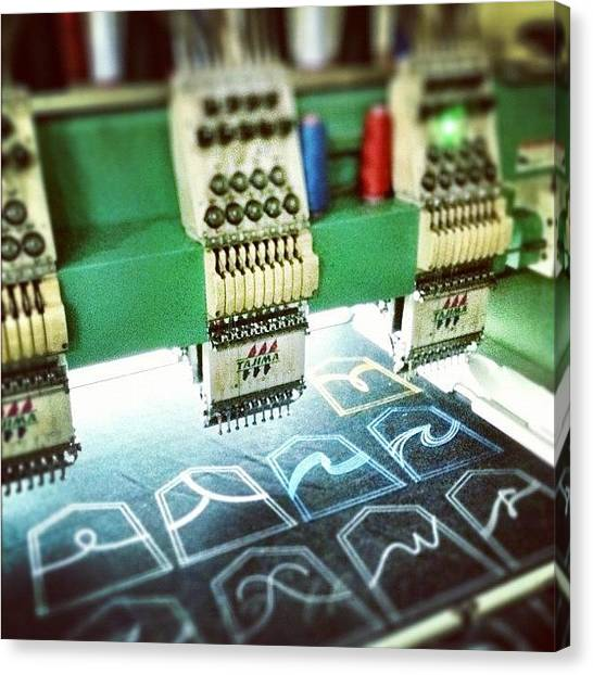 Machinery Canvas Print - Instagram Photo by Remy Asmara
