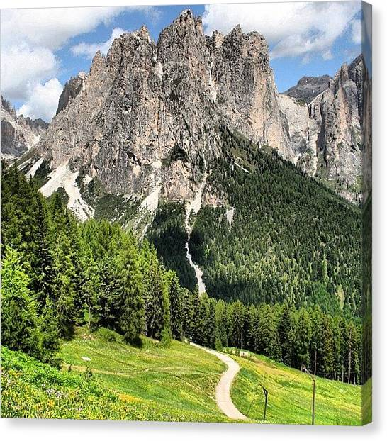 Italian Canvas Print - Dolomites by Luisa Azzolini