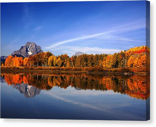 Grand Teton National Park Canvas Print