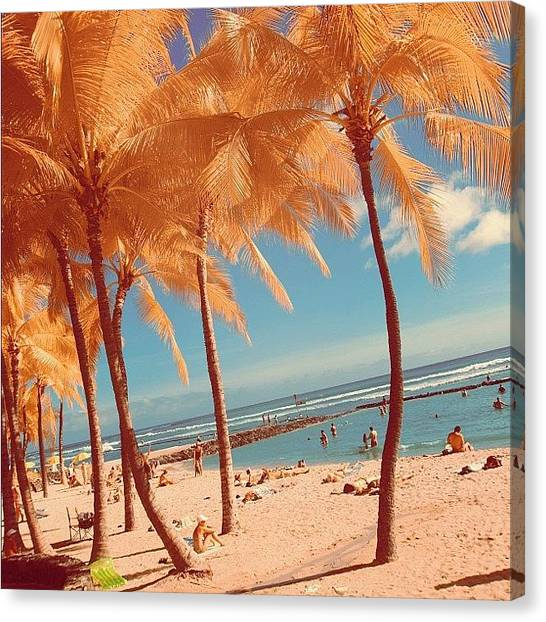 Vacations Canvas Print - This Photo Is Available In My by Tommy Tjahjono