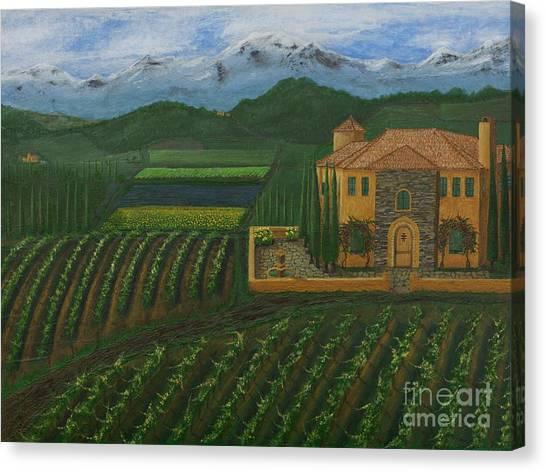 11425 Tuscany Canvas Print