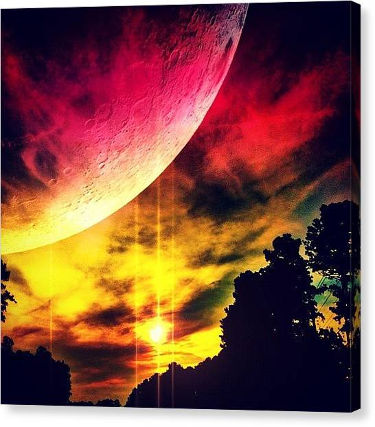 Outer Space Canvas Print - 👽 by Katie Williams