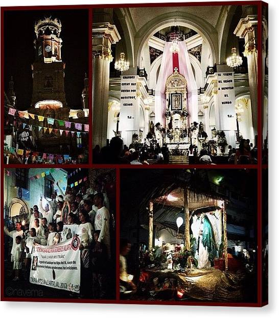Religious Canvas Print - 12/12/12: Our Lady Of Guadalupe Festival by Natasha Marco