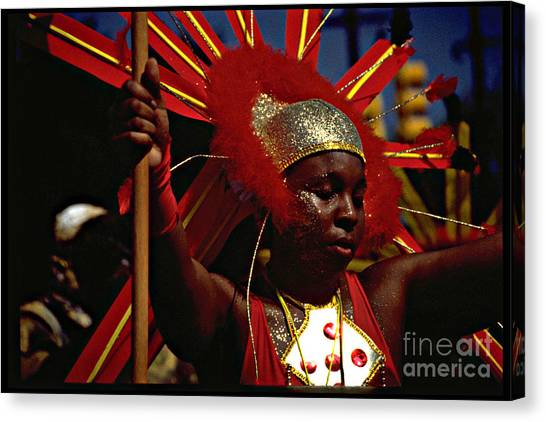 West Indian Day Parade Brooklyn Ny Canvas Print