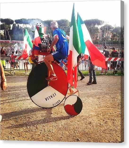 Football Teams Canvas Print - Instagram Photo by Enrico Di Giamberardino