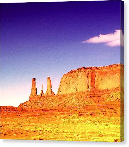 Cool Canvas Print - Monument Valley by Luisa Azzolini