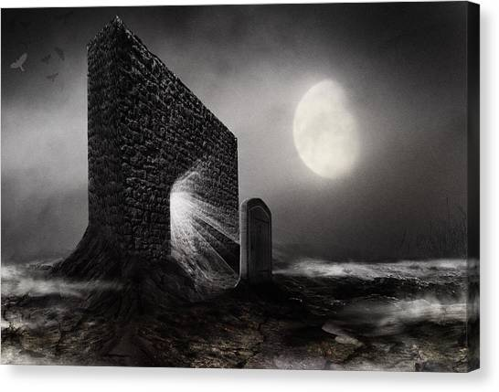 Doubled Canvas Print