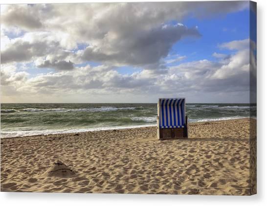 Sand Castles Canvas Print - Sylt by Joana Kruse