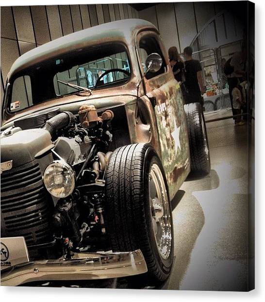 Ford Canvas Print - #instagram #iphonesia #iphoneography by Yutaka Sawada