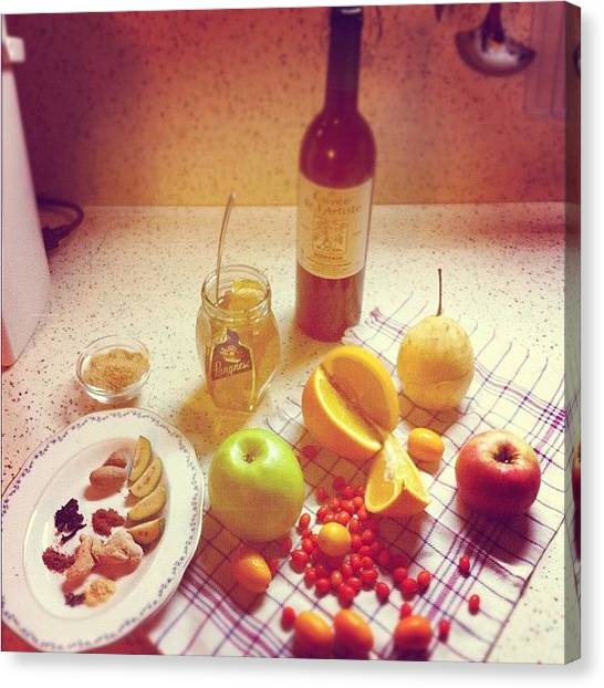 Lemons Canvas Print - Instagram Photo by Alexandr Abramov