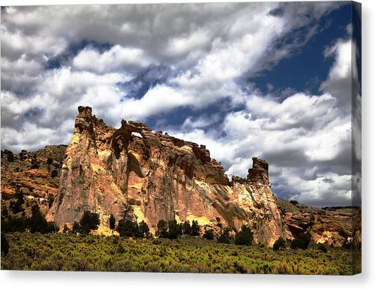 Kodachrome Basin Canvas Print
