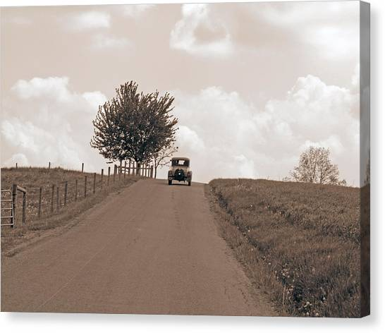 1930 Model A Ford Canvas Print