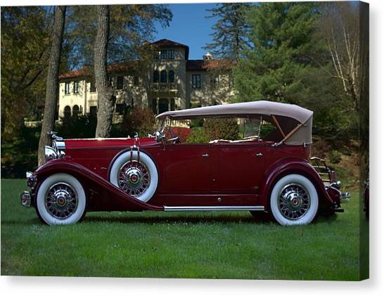1932 Packard 903 Deluxe Eight Sport Phaeton Canvas Print
