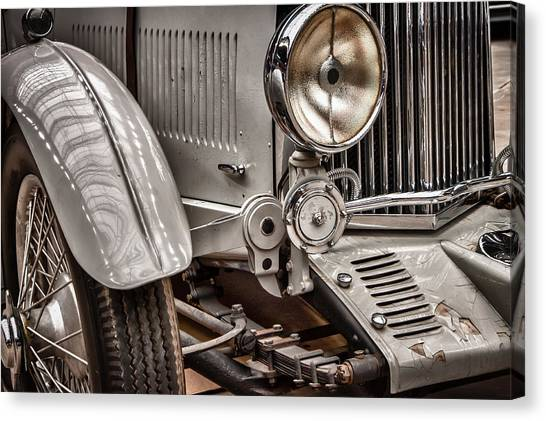 1935 Aston Martin Canvas Print