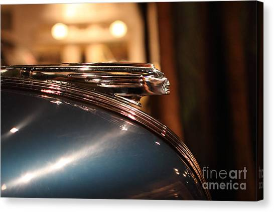 1939 Pontiac Station Wagon - 7d17417 Canvas Print by Wingsdomain Art and Photography