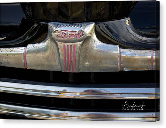 1940s Ford Grill Canvas Print
