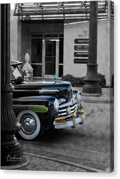 1940s Ford Out Of The Past Canvas Print