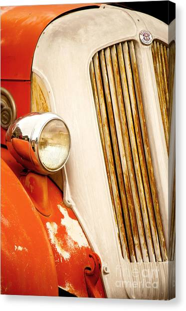 1940's Seagrave Fire Engine Canvas Print