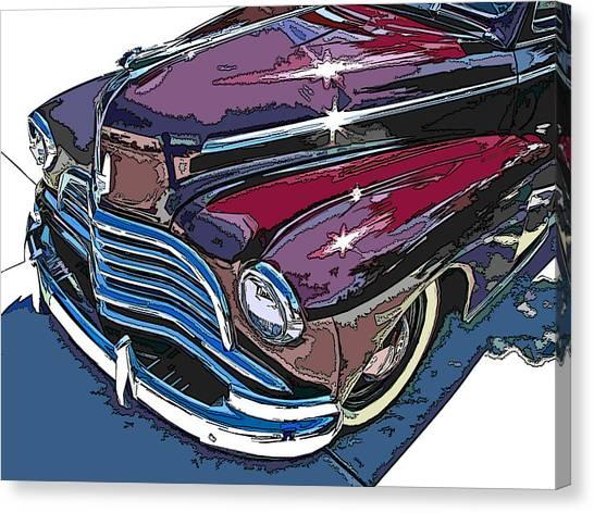 1946 Chevrolet Front Study Canvas Print