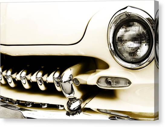 Chrome Canvas Print - 1949 Mercury by Scott Norris