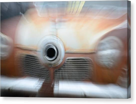 1951 Studebaker Abstract Canvas Print