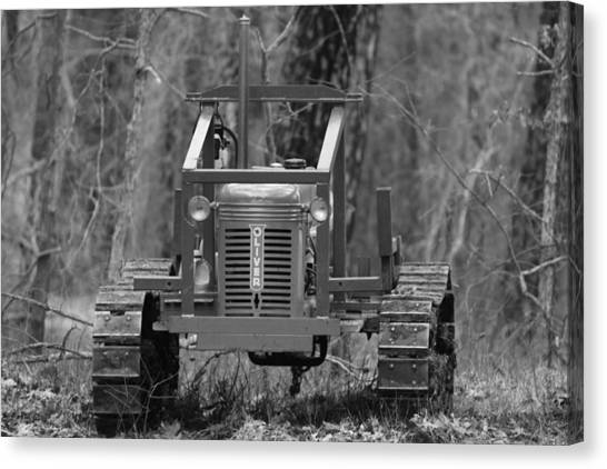 1953 Oliver Tractor Canvas Print