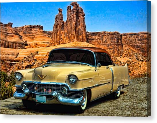 1954 cadillac coupe deville photograph by tim mccullough. Black Bedroom Furniture Sets. Home Design Ideas