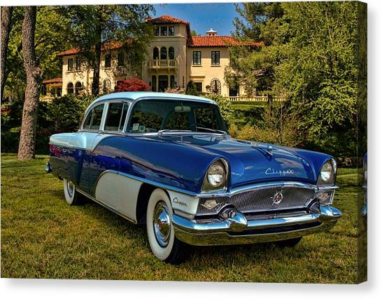 1955 Packard Clipper Canvas Print by Tim McCullough