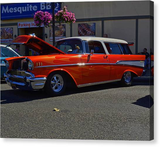 1957 Belair Wagon Canvas Print