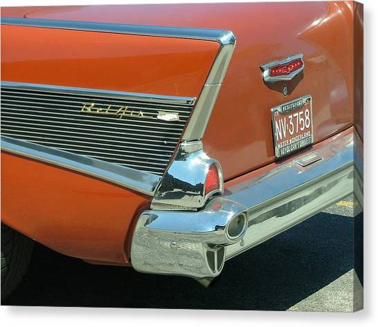 1957 Chevy Belair Canvas Print