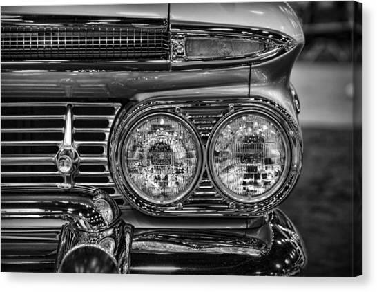 Turn Signals Canvas Print - 1959 Chevrolet El Camino by Gordon Dean II