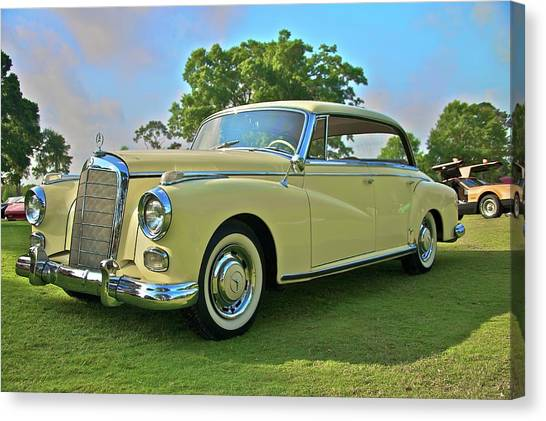 1960 Mercedes 300 Hardtop Sedan Canvas Print by Mike  Capone