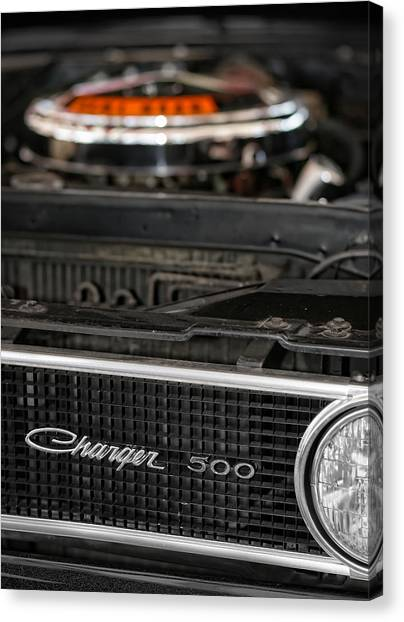 Daytona 500 Canvas Print - 1969 Dodge Charger 500 by Gordon Dean II