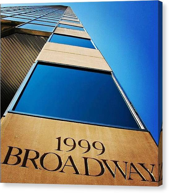 Wolves Canvas Print - 1999 Broadway by Wolf Stumpf